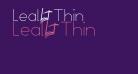 Leal Thin