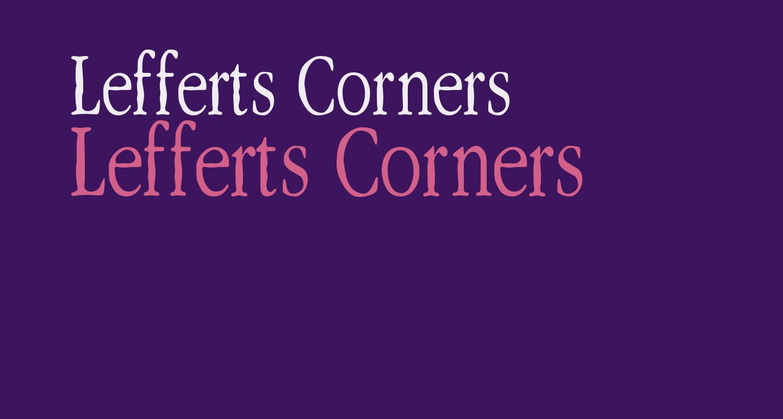 Lefferts Corners