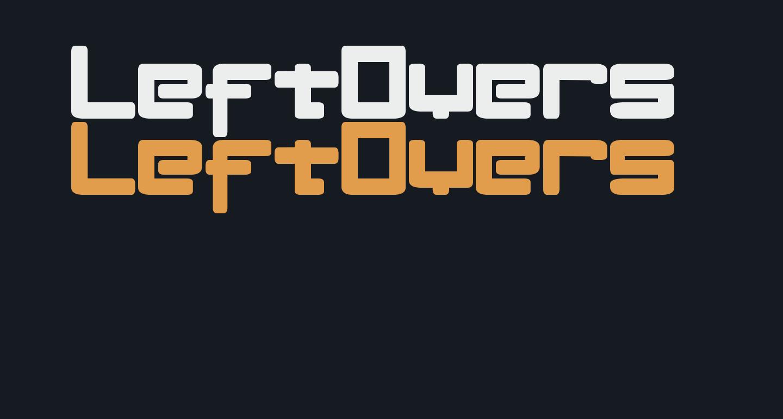 LeftOvers II 3 1