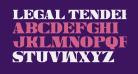 Legal Tender Condensed