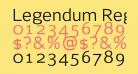 Legendum Regular