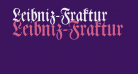 Leibniz-Fraktur