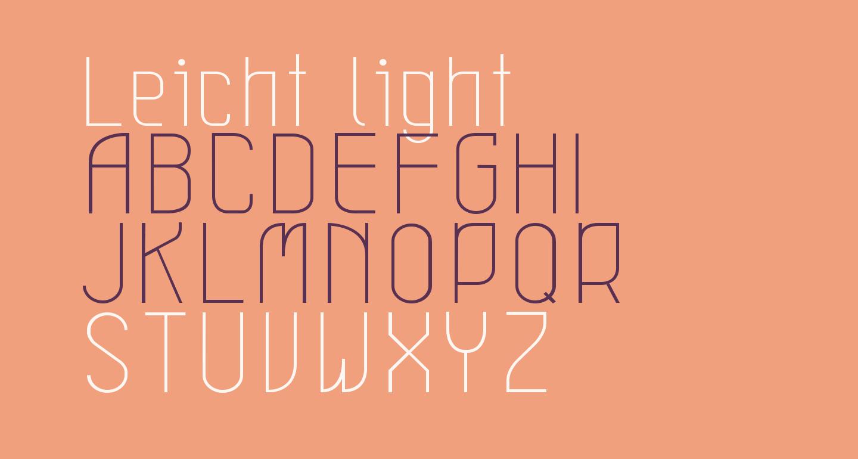 Leicht light