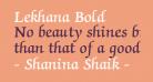 Lekhana Bold