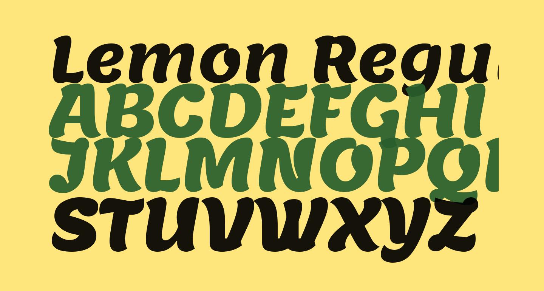 Lemon Regular