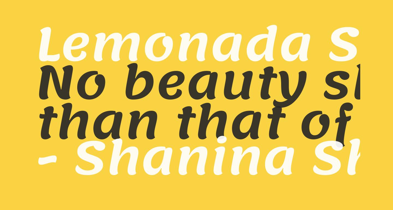 Lemonada SemiBold