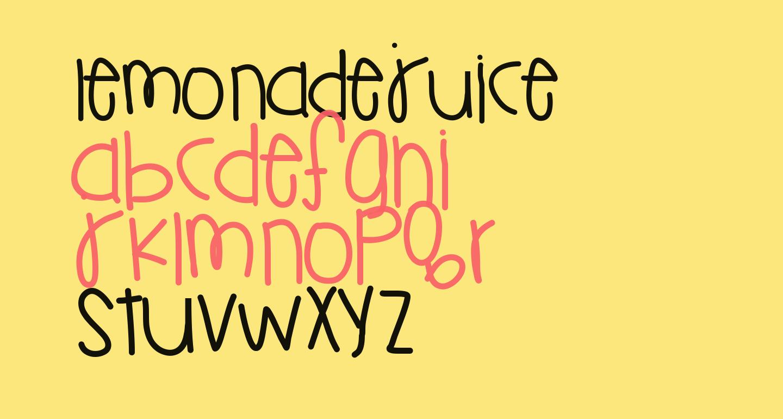 LemonadeJuice
