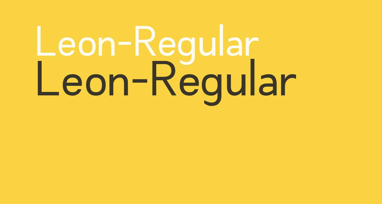 Leon-Regular