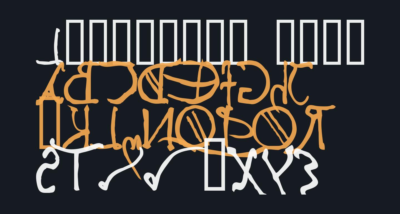 Leonardos mirrorwriting  Bold