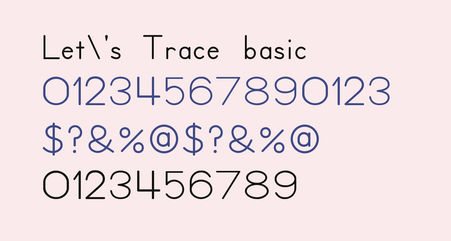 Let's Trace basic