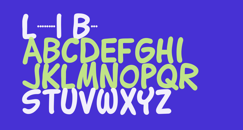 Lettering1 Bold