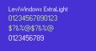 LeviWindows ExtraLight