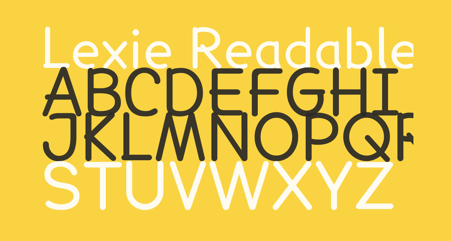Lexie Readable Regular