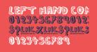 left hand comic