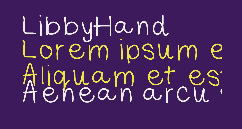 LibbyHand