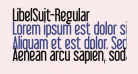 LibelSuit-Regular