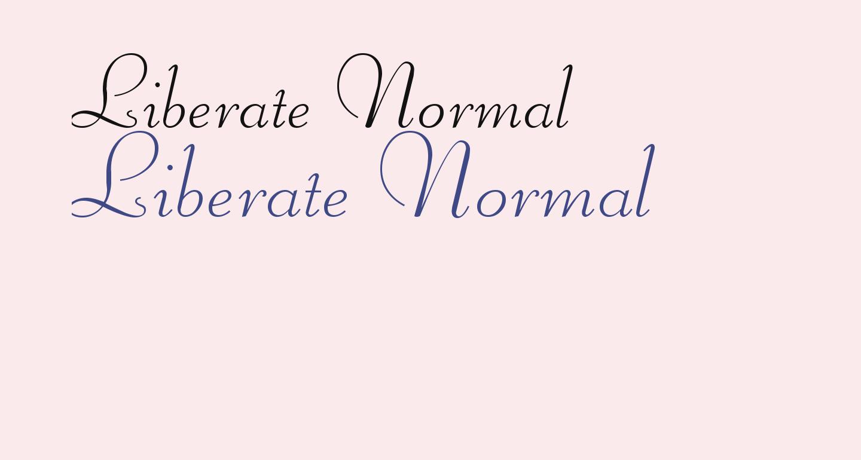 Liberate Normal