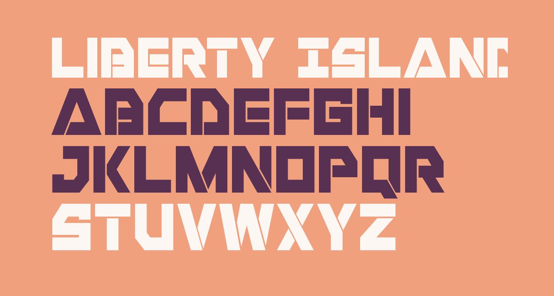 Liberty Island Condensed
