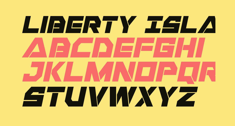 Liberty Island Italic