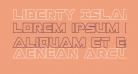 Liberty Island Outline Regular