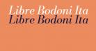 Libre Bodoni Italic
