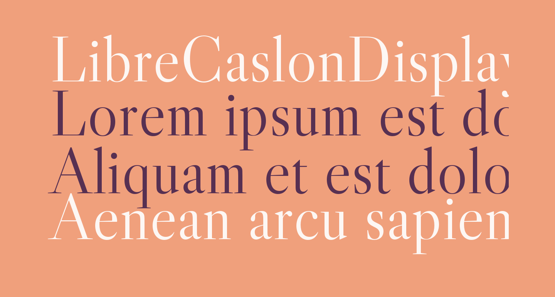 LibreCaslonDisplay-Regular