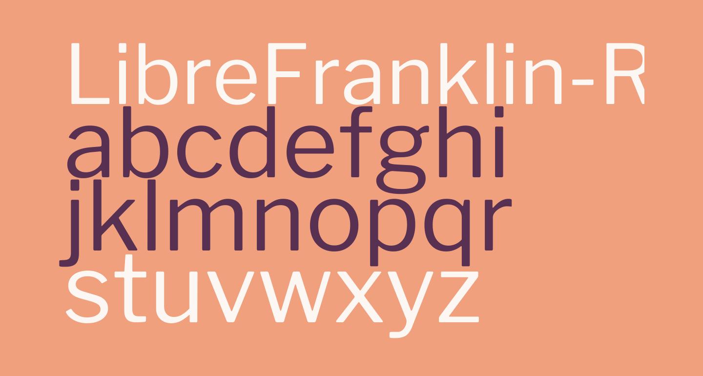 LibreFranklin-Regular