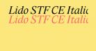 Lido STF CE Italic