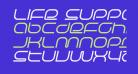 Life Support Italic
