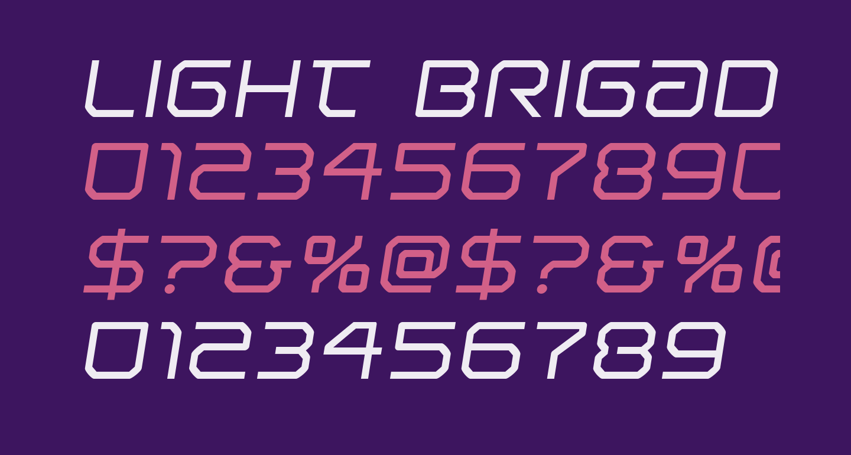 Light Brigade Semi-Italic