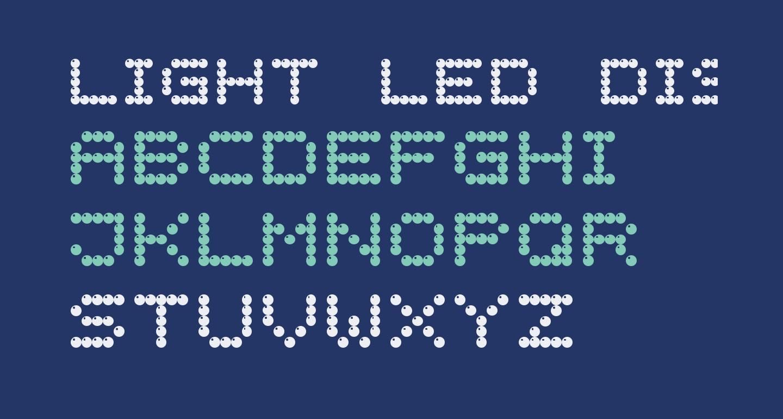 Light LED Display-7