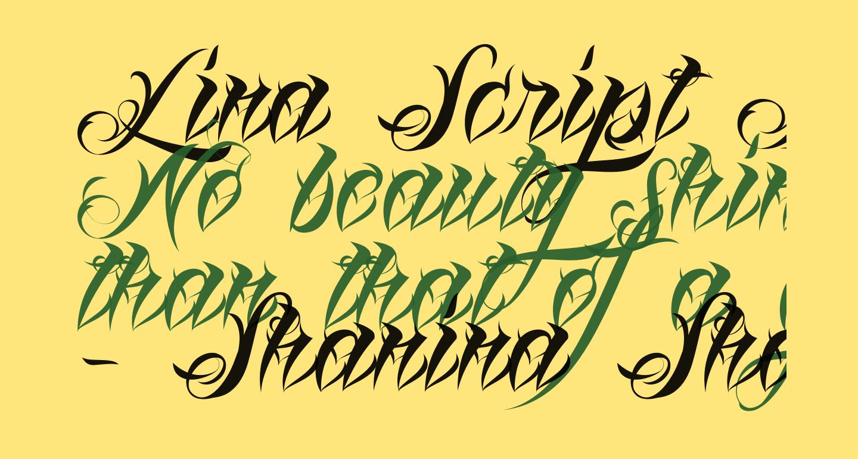 Lina Script Demo