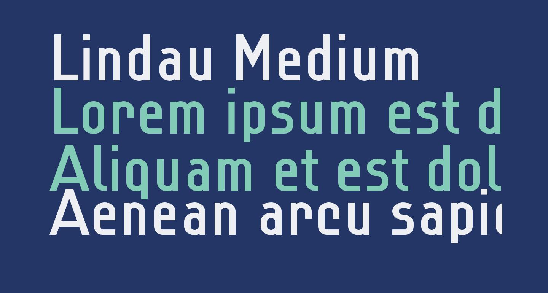 Lindau Medium