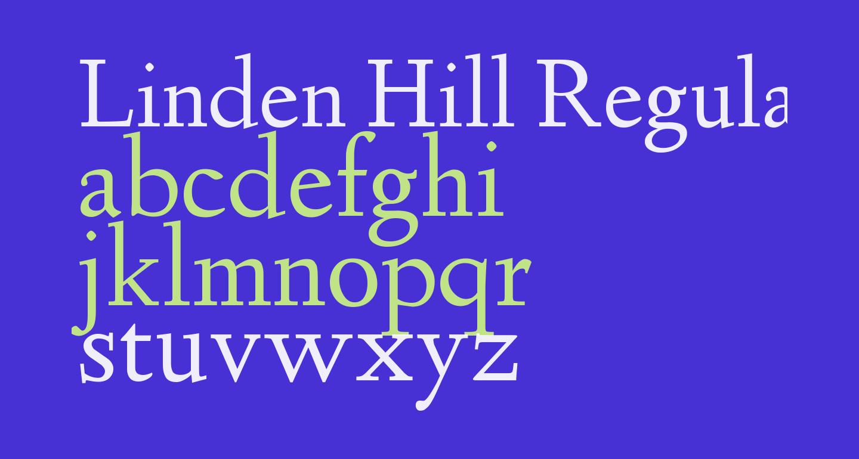 Linden Hill Regular