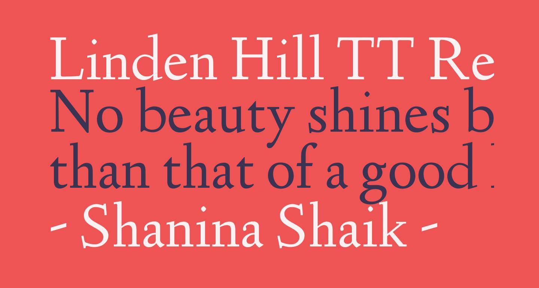 Linden Hill TT Regular