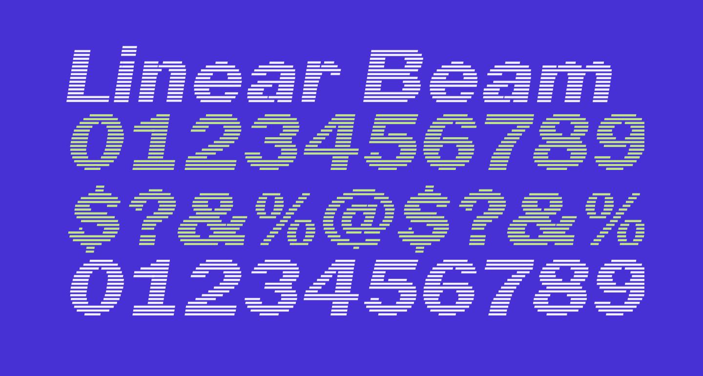 Linear Beam    0.5
