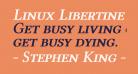 Linux Libertine Capitals Semibold Italic