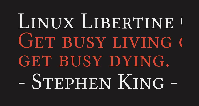Linux Libertine O Capitals