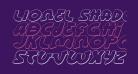 Lionel Shadow Italic