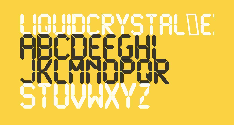 LiquidCrystal-ExtraBold