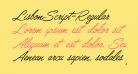 LisbonScript-Regular