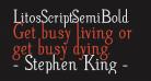 LitosScript-SemiBold