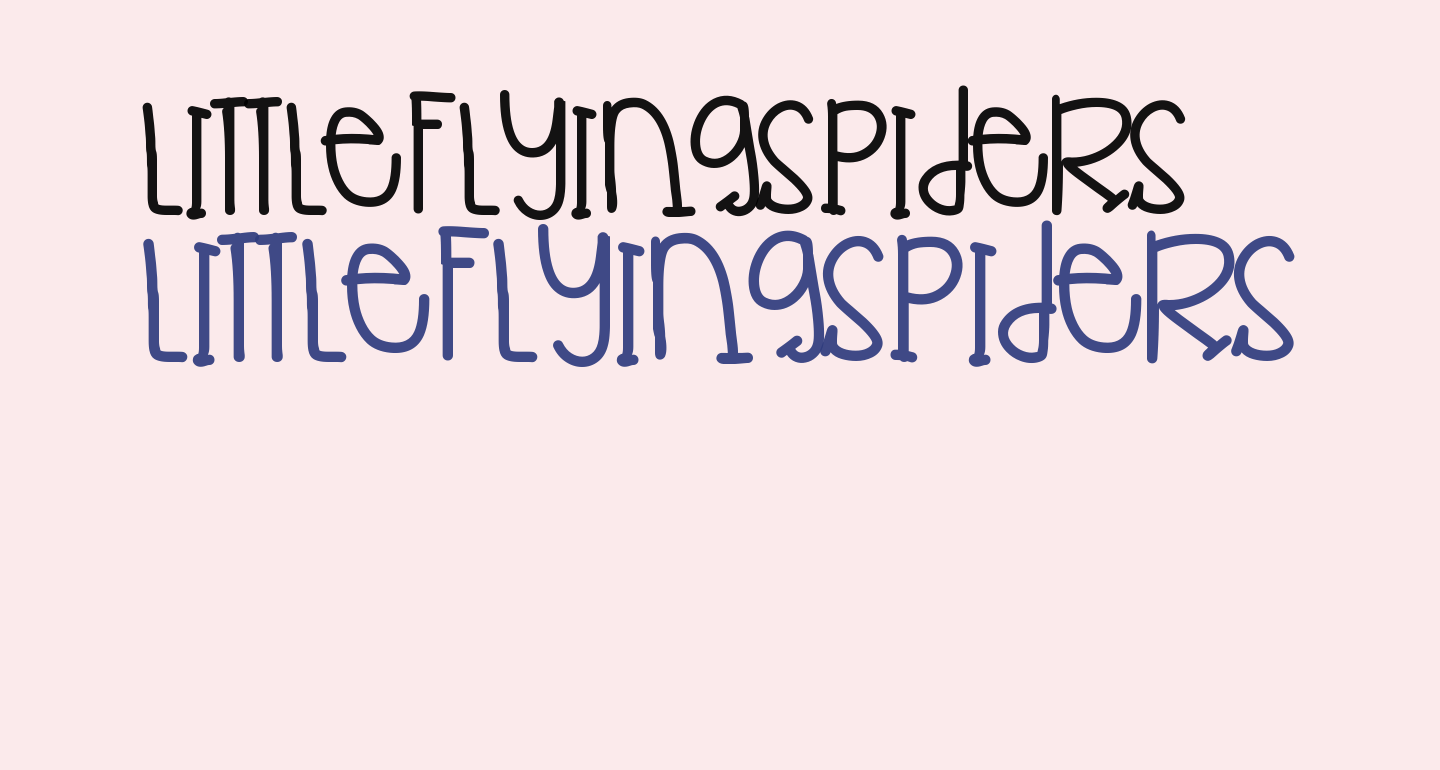 LittleFlyingSpiders