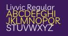 Livvic Regular