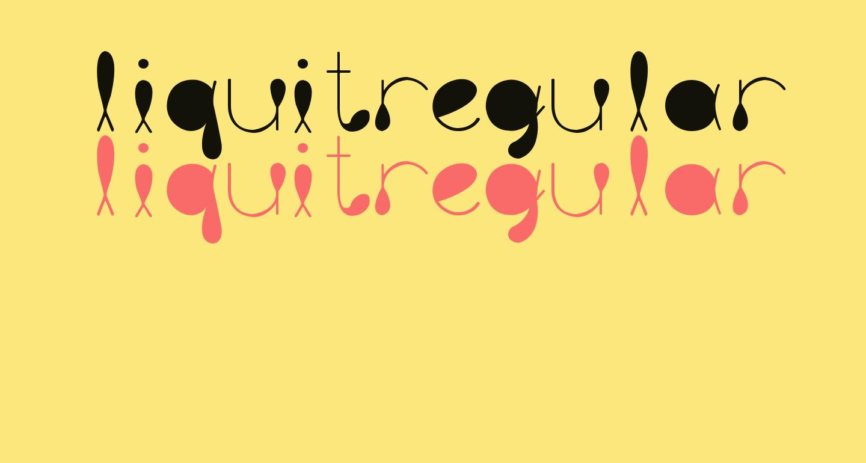 liquitRegular