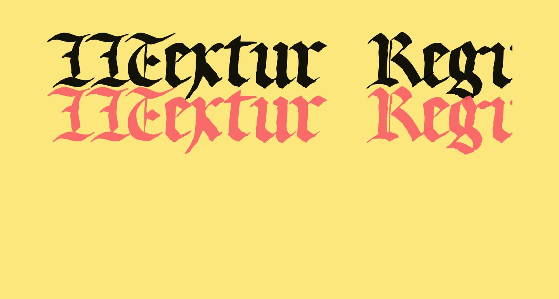 LLTextur  Regular