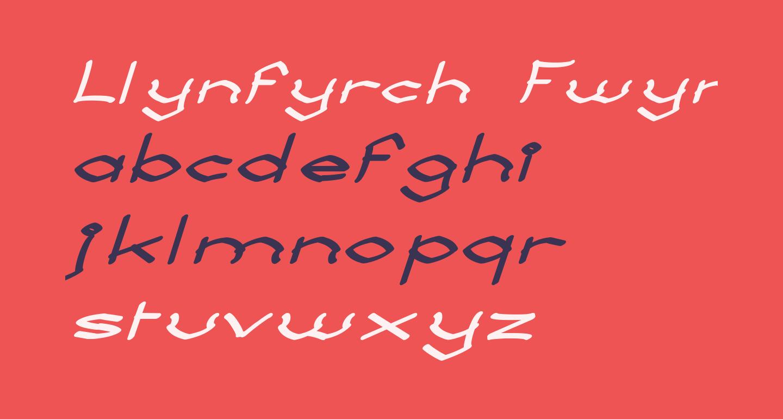 Llynfyrch Fwyrrdynn SemiBold