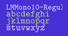 LMMono10-Regular