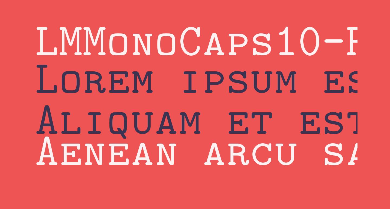 LMMonoCaps10-Regular
