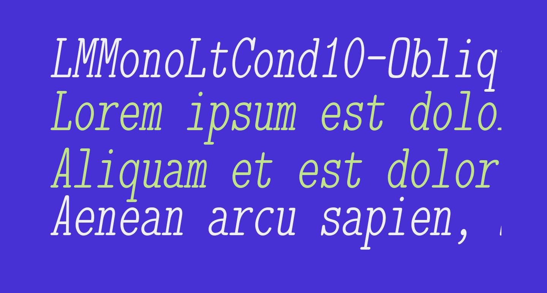 LMMonoLtCond10-Oblique